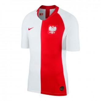 Camisola  Nike Seleção  Polonia Vapor Match SS DSR 2019-2020 White-Sport red
