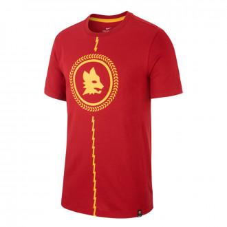 Camisola Nike AS Roma Kit Story Tell 2018-2019 Team crimson