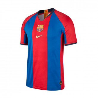 Camiseta  Nike FC Barcelona Vapor Match 1998-1999 Collection Gym blue-Canary