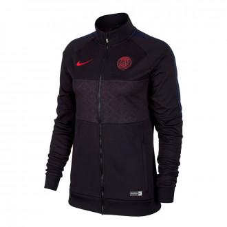 Casaco Nike Paris Saint-Germain 2018-2019 Mujer Oil grey-University red