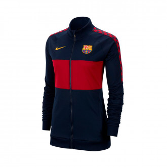 Giacca  Nike FC Barcelona 2018-2019 Donna Obsidian-Noble red-University gold