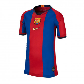 Maillot  Nike FC Barcelona Breathe Stadium 1998-1999 Collection enfant Gym blue-Canary
