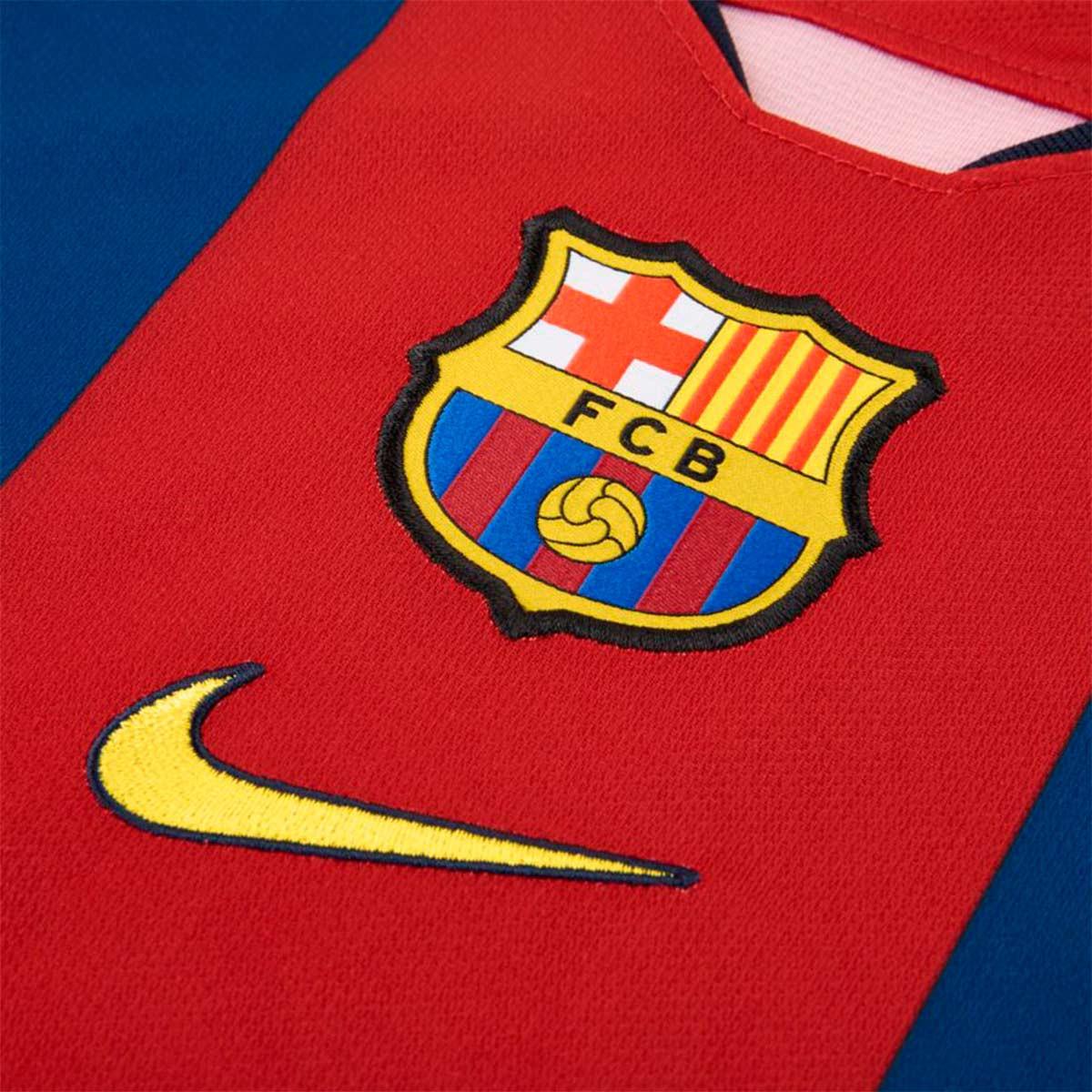 0ed8d308eea Jersey Nike Kids FC Barcelona Breathe Stadium 1998-1999 Collection Gym blue- Canary - Football store Fútbol Emotion