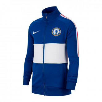 Chamarra Nike Chelsea FC 2019-2020 Niño Rush blue-White