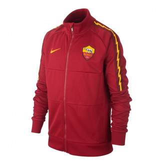 Jacket  Nike AS Roma 2018-2019 Niño Team red-University gold