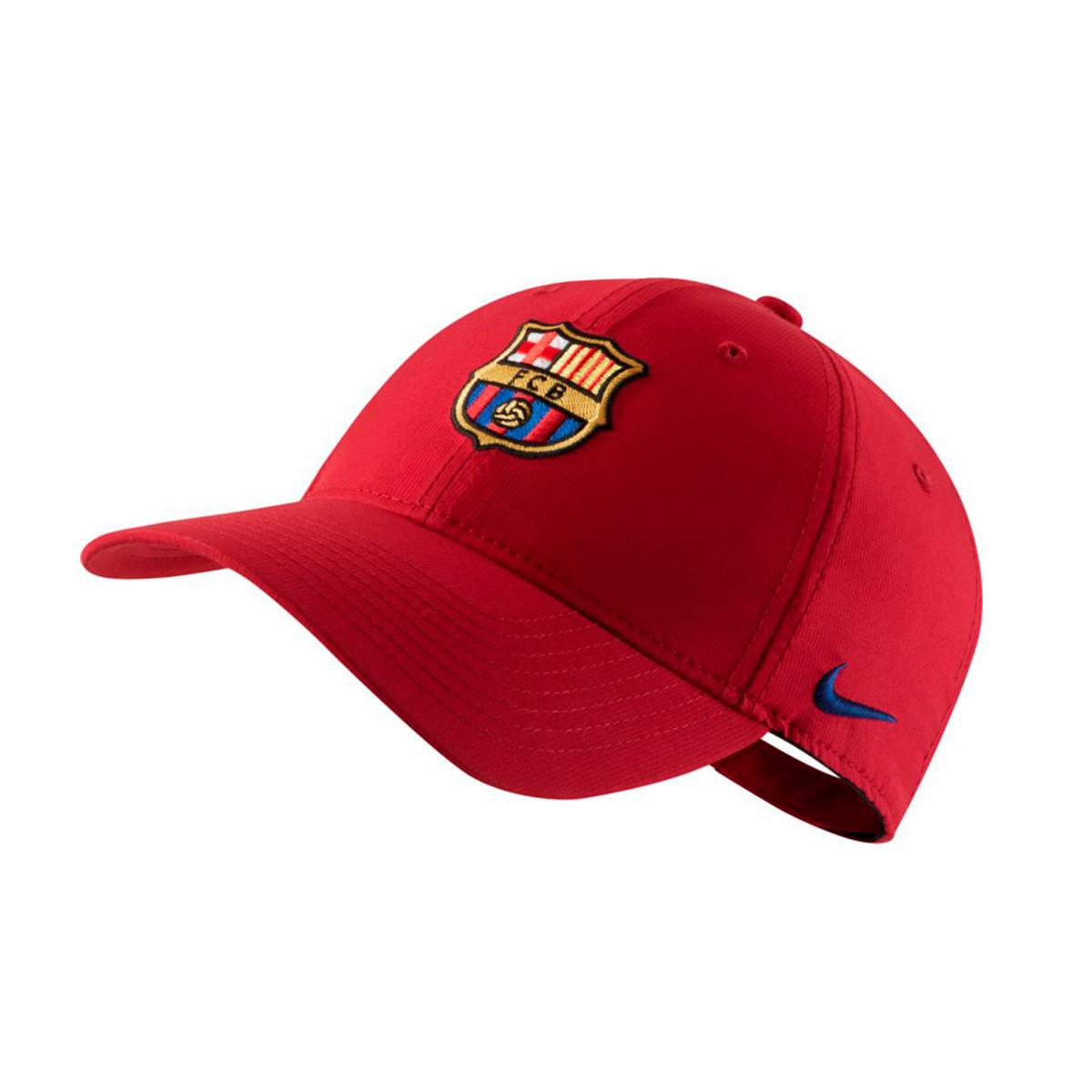 3416d1fe653 Cap Nike FC Barcelona Dry L91 2018-2019 Niño Noble red-Deep royal ...