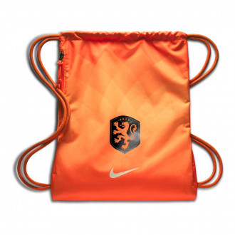 Bag Nike Netherlands Stadium Gym Sack 2018-2019 Safety orange-Orange quartz