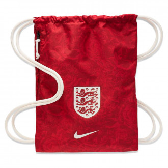 Sac de sport  Nike Stadium Selection d'Angleterre Gym Sack 2018-2019 Team red-Phantom