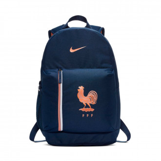 Sac à dos  Nike Equipe de France Stadium 2018-2019 Midnight navy-Rose gold