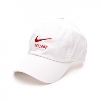 Cap  Nike Seleccion Inglaterra H86 2018-2019 White-Habanero red
