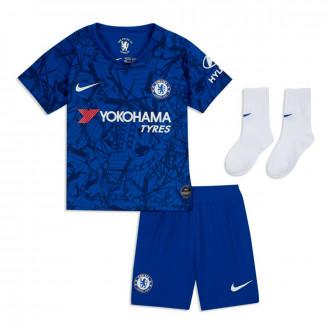 Conjunto  Nike Chelsea FC Breathe Primera Equipación 2019-2020 Bebe Rush blue-White