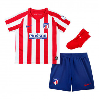 Kit  Nike Infant Atletico  Madrid Breathe 2019-2020 Home Sport red-White-Deep royal blue