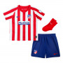 Conjunto Atlético de Madrid Breathe Primera Equipación 2019-2020 Bebe Sport red-White-Deep royal blue