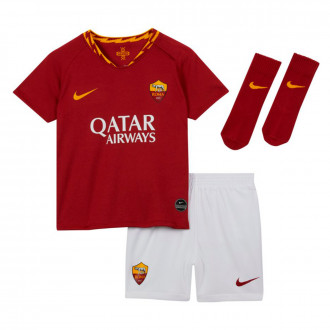 Completo Nike AS Roma Breathe Completo stagione 2019-2020 Bebe Team crimson-University gold