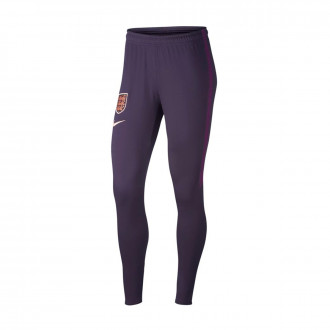 Pantalón largo  Nike Seleccion Inglaterra Dry Squad WWC 2019 Mujer Purple dynasty-Night purple