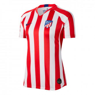 Jersey Nike Atlético de Madrid Breathe Stadium SS Primera Equipación 2019-2020 Mujer Sport red-White-Deep royal blue