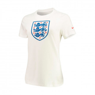 Jersey  Nike Seleccion Inglaterra Evergreen Crest WWC 2019 Mujer White