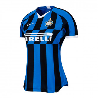 Maglia Nike Inter  Breathe Stadium SS  2019-2020 Donna Blue spark-White