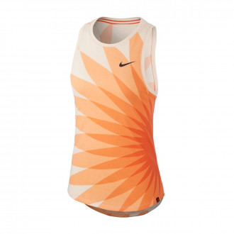 Maillot  Nike Selection Pays Bas Presaison WWC 2019 femme Orange quartz