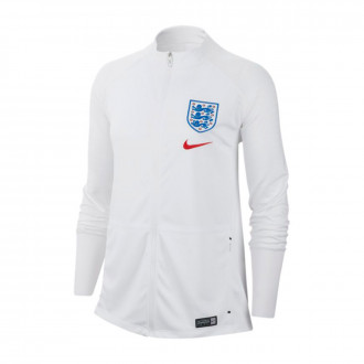 Veste  Nike Selection Angleterre Anthem Squad WWC 2019 Femme White-Challenge red
