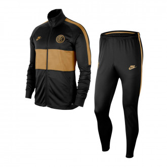 Tuta Nike Inter Dry Strike K 2019-2020 Black-Truly gold