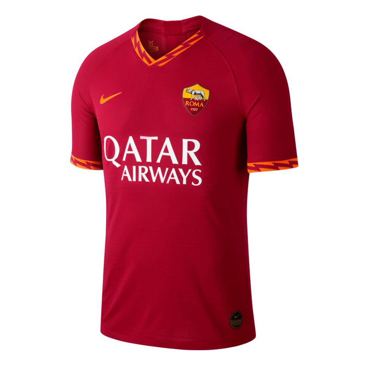 Camiseta Nike AS Roma Vapor Match SS Primera Equipación 2019 2020