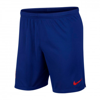 Short  Nike Atlético de Madrid Breathe Stadium 2019-2020 Deep royal blue-Sport red