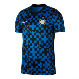 Camiseta Nike Inter Milán Dry Top SS PM 2019-2020 Blue spark-Black-White