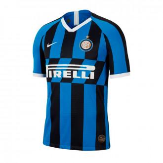Camisola  Nike Inter Milán Vapor Match SS Primera Equipación 2019-2020 Blue spark-White