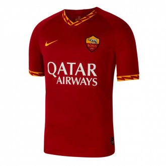 Maglia Nike AS Roma Breathe Stadium SS Maglia stagione 2019-2020 Team crimson-University gold