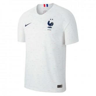 Jersey  Nike Selección Francia Breathe Stadium Segunda Equipación 2018-2019 White-Obsidian