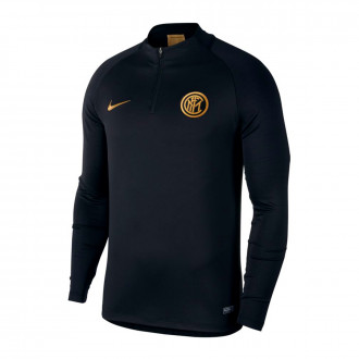 Felpa Nike Inter Milán Dry Strike Dril Top 2019-2020 Black-Truly gold