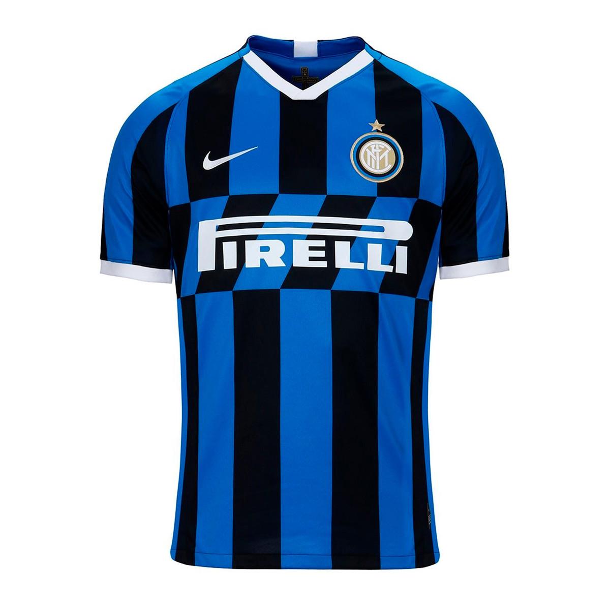 ff692ad9f8b Camiseta Nike Inter Milán Breathe Stadium SS Primera Equipación 2019-2020  Blue spark-White - Tienda de fútbol Fútbol Emotion