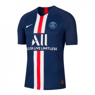 Camiseta Nike Paris Saint-Germain Vapor Match SS Primera Equipación 2019-2020 Midnight navy-White