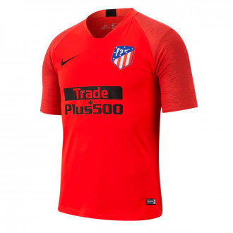 Camiseta Nike Atlético de Madrid Breathe Strike Top SS 2019-2020 Challenge red-Black