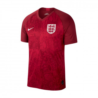 Camiseta  Nike Seleccion Inglaterra Breathe Stadium SS Segunda Equipación 2018-2019 Team red-Phantom