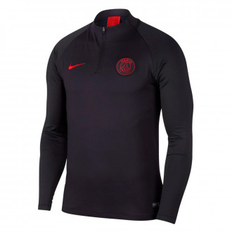 Sweat  Nike Paris Saint-Germain Dry Strike Dril Top 2019-2020 Oil grey-University red