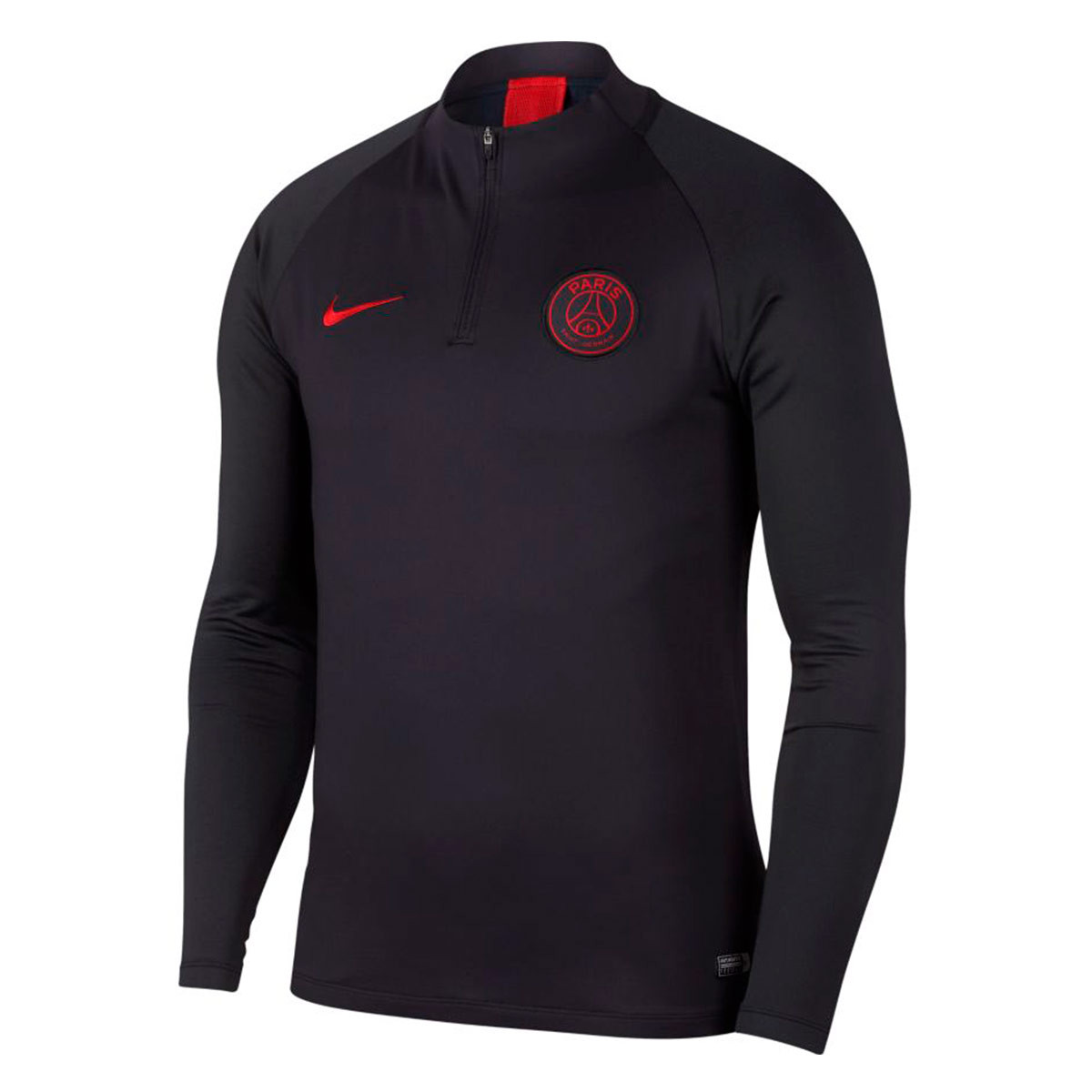 cheap for discount d5fe3 87740 Sudadera Paris Saint-Germain Dry Strike Dril Top 2019-2020 Oil  grey-University red