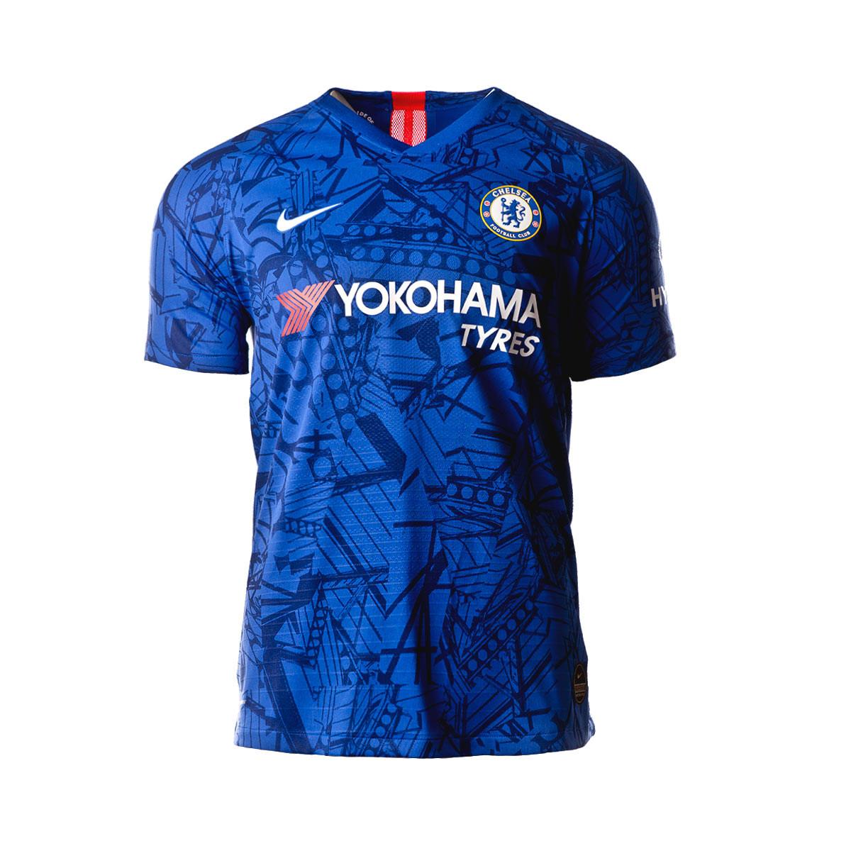wholesale dealer 6d8e1 c6557 Camiseta Chelsea FC Vapor Match SS Primera Equipación 2019-2020 Rush  blue-White