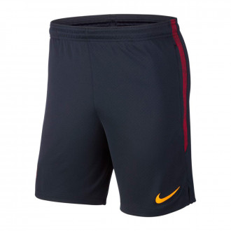Calções  Nike AS Roma Dry Strike KZ 2019-2020 Dark obsidian-University gold