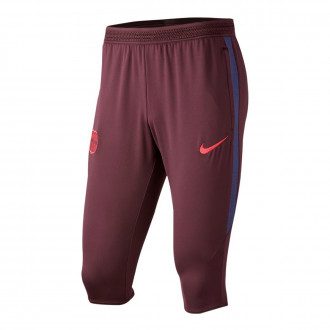 Capri pants  Nike FC Barcelona Dry Strike 2019-2020 Burgundy ash-Deep royal blue-Noble red