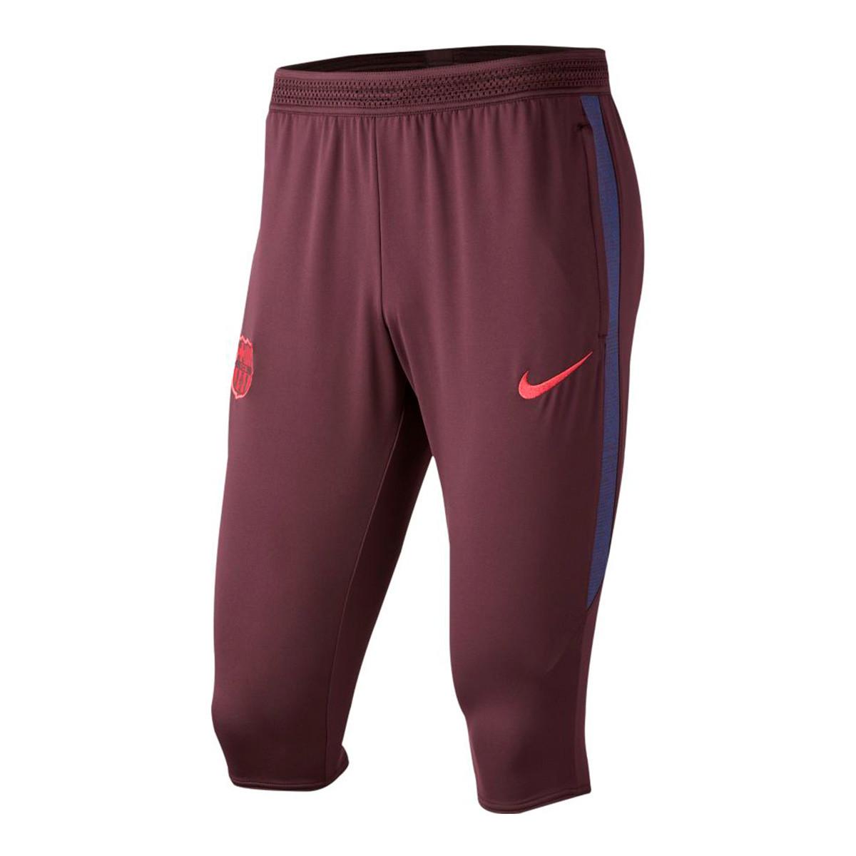 combate Peladura ecuador  Capri pants Nike FC Barcelona Dry Strike 2019-2020 Burgundy ash-Deep royal  blue-Noble red - Football store Fútbol Emotion