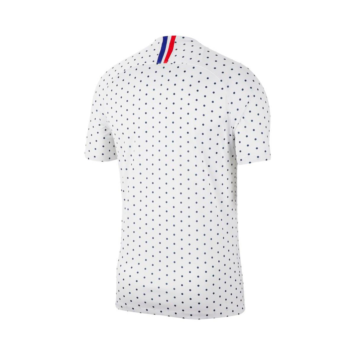 Camiseta Nike Selección Francia Breathe Stadium SS Segunda Equipación 2018 2019