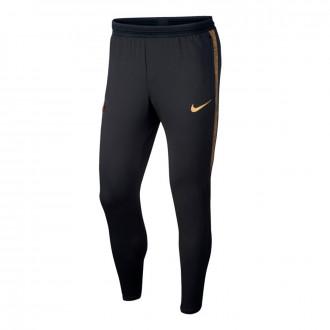 Long pants   Nike Inter Milán Dry Strike KP 2019-2020 Black-Truly gold