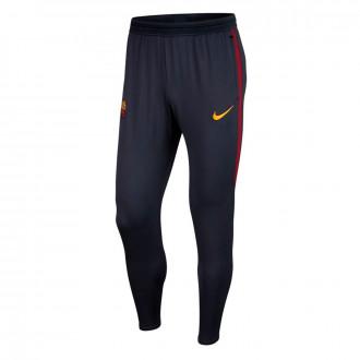 Calças Nike AS Roma Dry Strike KP 2019-2020 Dark obsidian-University gold