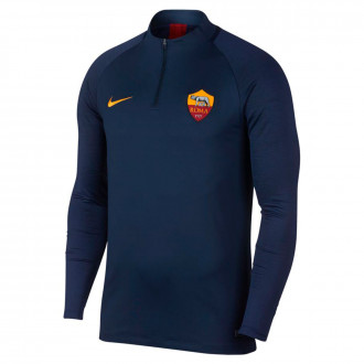 Sweatshirt  Nike AS Roma Dry Strike Dril Top 2019-2020 Dark obsidian-University gold