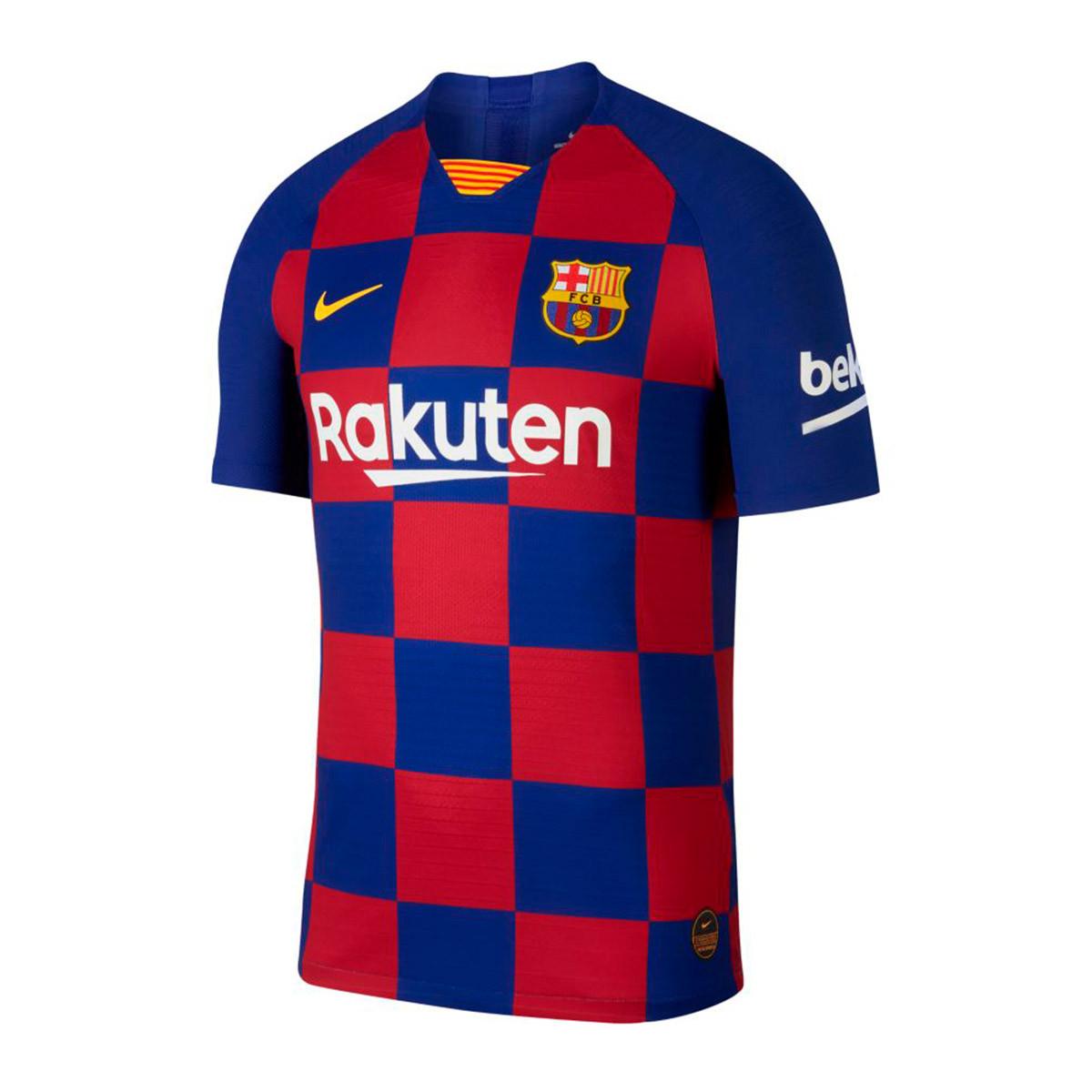 Jersey Nike Fc Barcelona Vapor Match Ss 2019 2020 Home Deep Royal Blue Varsity Maize Football Store Futbol Emotion