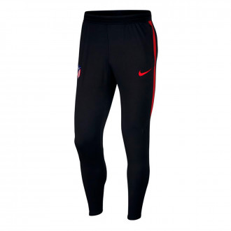 Pantalón largo Nike Atlético de Madrid Dry Strike KP 2019-2020 Black-Challenge red