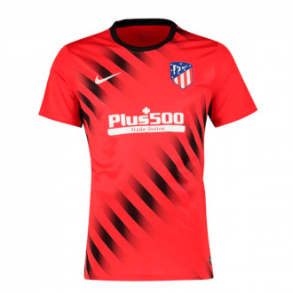 Maillot  Nike Atlético de Madrid Dry Top SS PM 2019-2020 Challenge red-Black-White