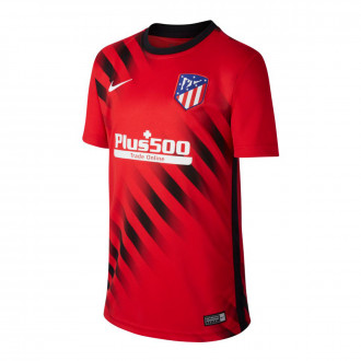 Camiseta Nike Atlético de Madrid Dry Top SS PM 2019-2020 Niño Challenge red-Black-White
